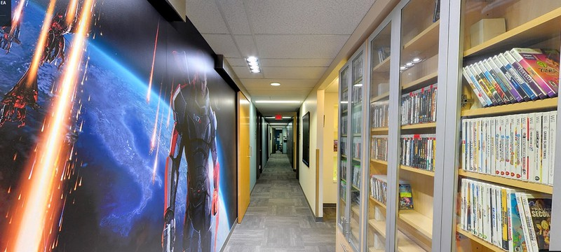 Экскурсия по офису BioWare в Google Maps