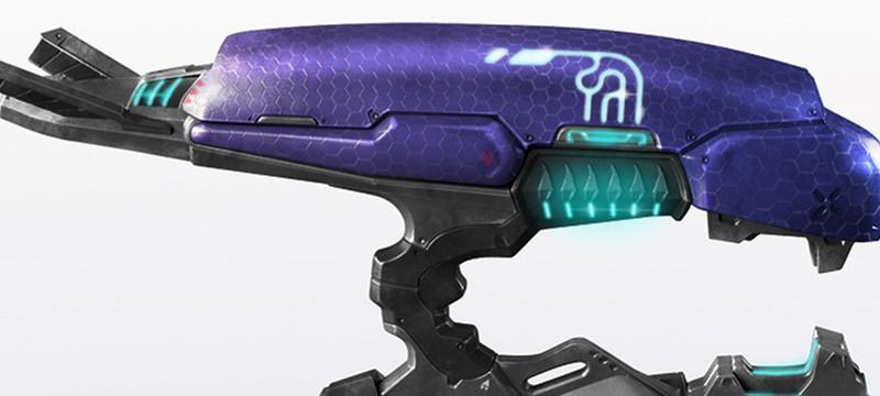 Реплика плазменного пистолета из Halo