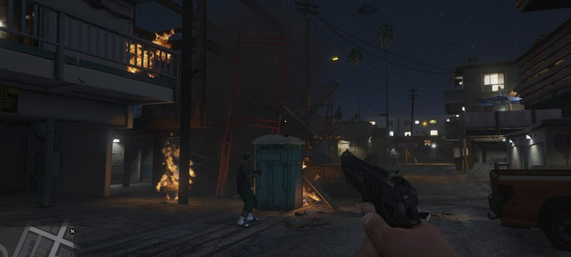Два часа геймплея GTA 5 на PS4