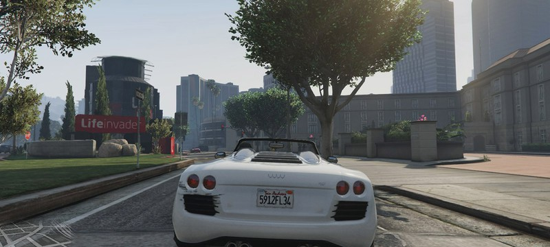 Next-gen GTA 5 работает на стабильных 30fps