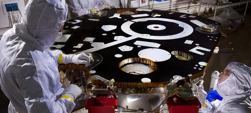 Начало жизни нового Марсианского аппарата