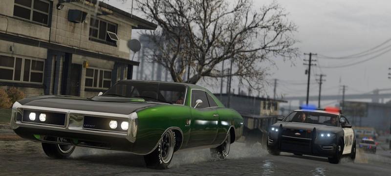 Для GTA 5 на PS4 и Xbox One найдены читы