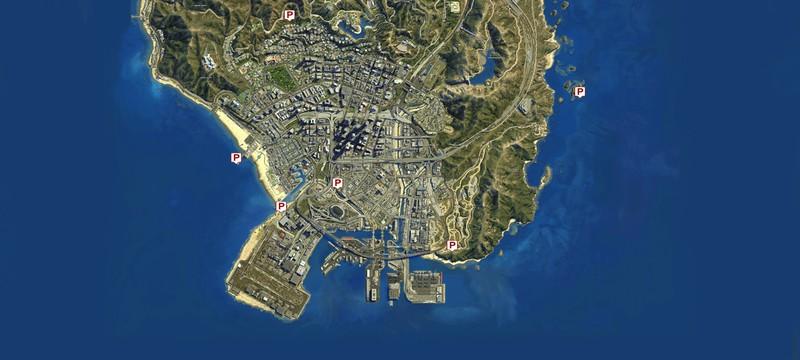 Карта с локациями пейота в GTA 5