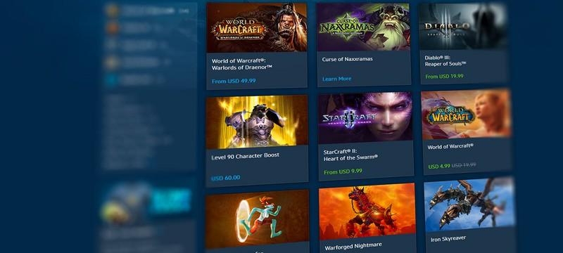 Ежегодная распродажа игр Blizzard