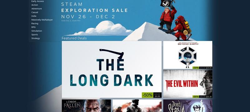 Начало осенней распродажи Steam