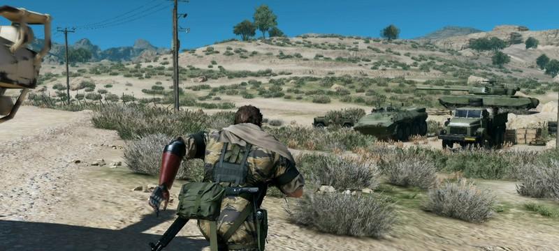 Проникновение на базы в MGS 5 – не часть Metal Gear Online