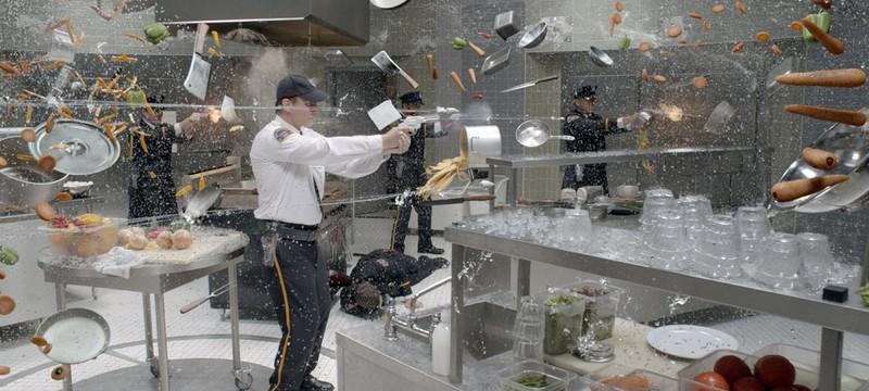 Работа над одной сценой из фильма - Люди Икс: Дни минувшего будущего