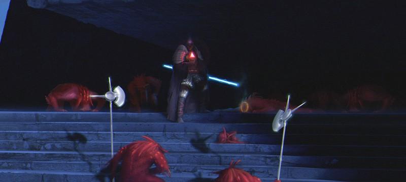 Как должен выглядеть световой меч в Star Wars: The Force Awakens