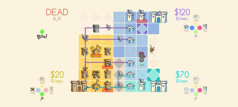 Стратегия Close Castles от создателей Threes выйдет на PS4