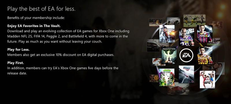 В EA Access будет больше игр
