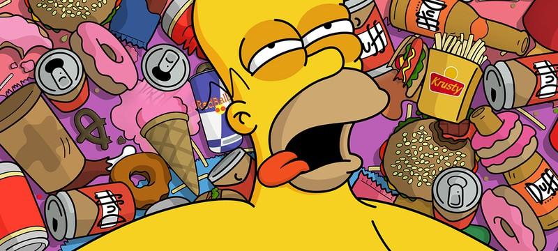 Праздничный эпизод Симпсонов с пародией на Frozen