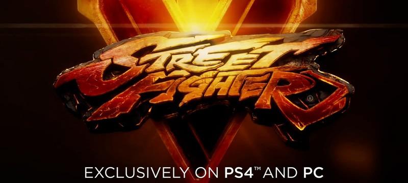 Анонс Street Fighter 5 для PC и PS4