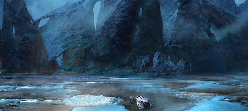 В последнем билде Mass Effect Next «много всего»