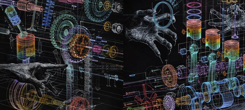 Голографические технологии в масле
