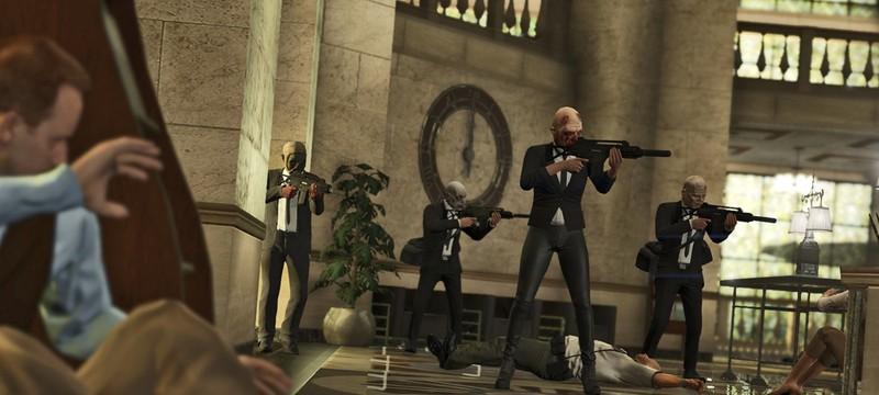 Скриншоты ограблений в GTA 5