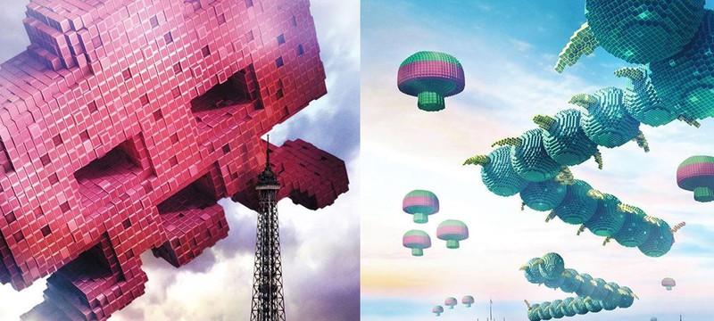 Постеры фильма Pixels