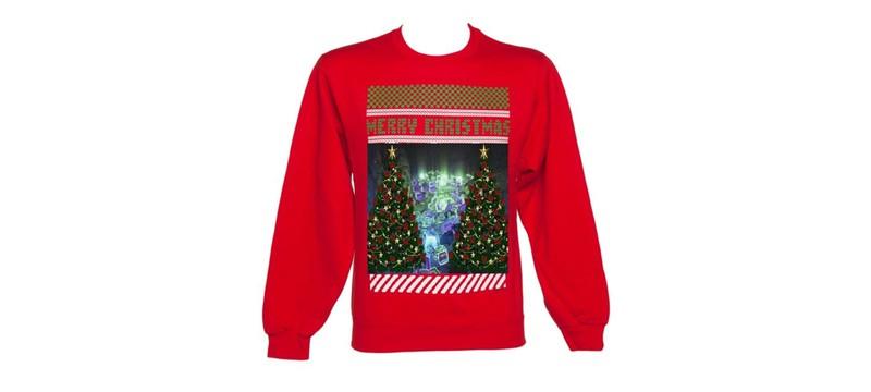 Идеи для новогоднего свитера геймера