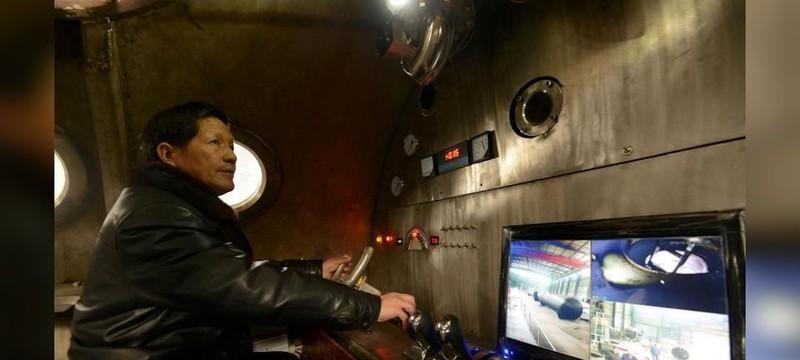 Short: Китайский пенсионер построил подводную лодку