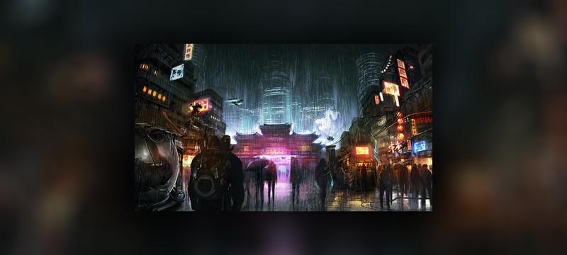 Концепт-арт новой игры Shadowrun