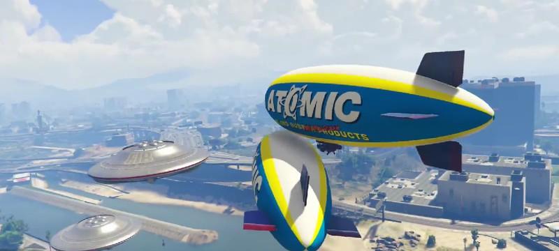 Очередное безумие в GTA 5 Online