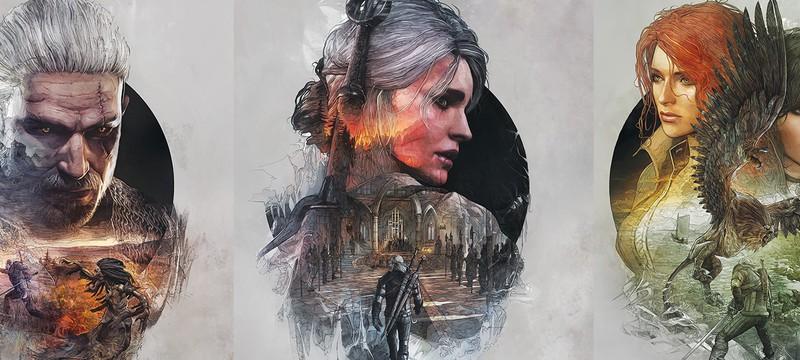 Обложки стилбука The Witcher 3
