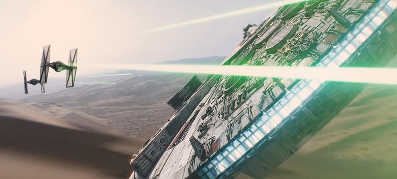 Концепт-арт особого имперского истребителя в The Force Awakens