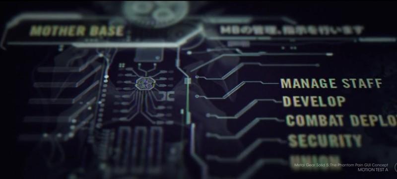 Ранний концепт IDroid и возможность кооперативного режима в MGS5