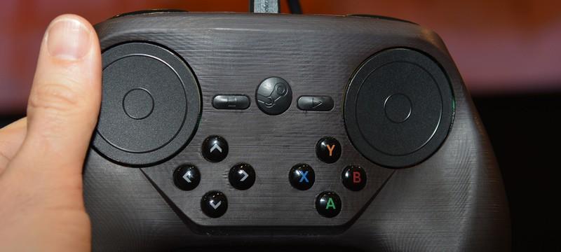 Финальный дизайн Контроллера Steam покажут на GDC 2015