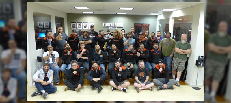 У всех разработчиков из Turtle Rock Studios есть борода, и это сделано не просто так