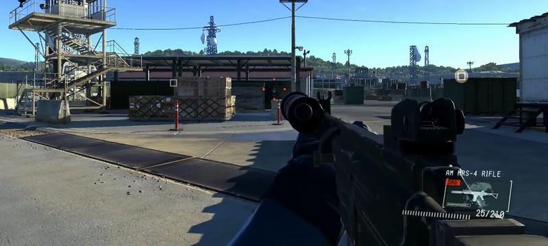 FPS мод в Metal Gear Solid: Ground Zeroes