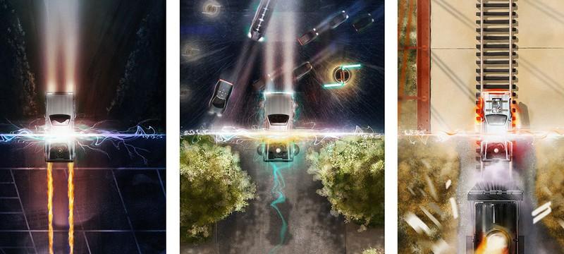 Шикарные постеры Назад в Будущее
