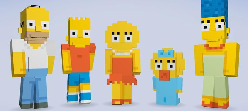 Симпсоны в Minecraft, эксклюзивно для Xbox