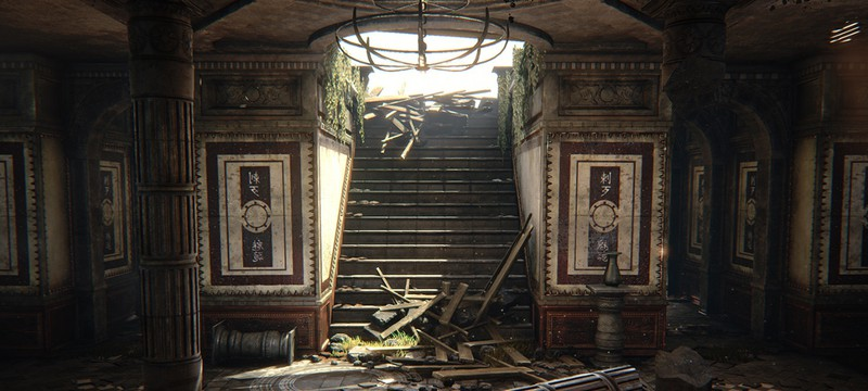 Карта Gears of War на Unreal Engine 4