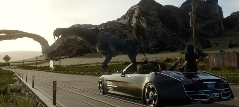 В демо Final Fantasy 15 нельзя водить авто