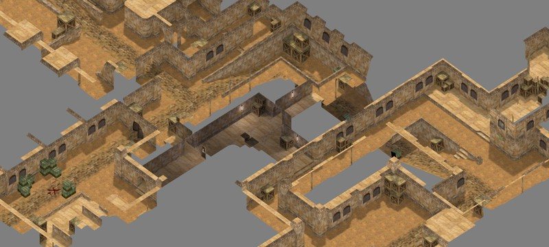 Классические карты Counter-Strike в изометрическом виде