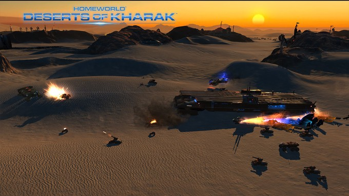 Homeworld: Deserts of Kharak (2016) PC - Скриншот 2
