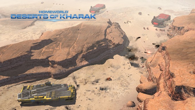 Homeworld: Deserts of Kharak (2016) PC - Скриншот 1