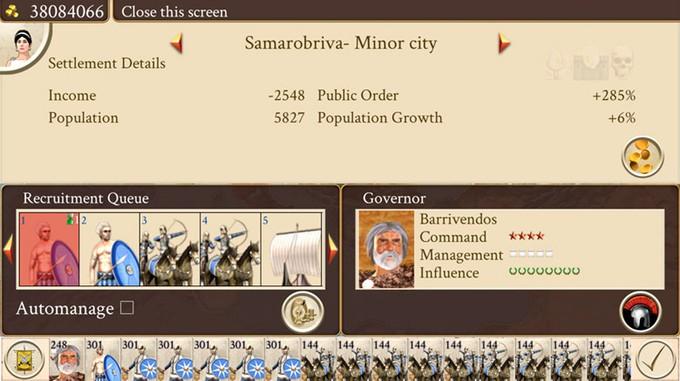 ROME: Total War выйдет на iPhone этим летом
