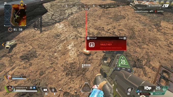 На новой карте Apex Legends можно найти хранилища с очень редкими вещами