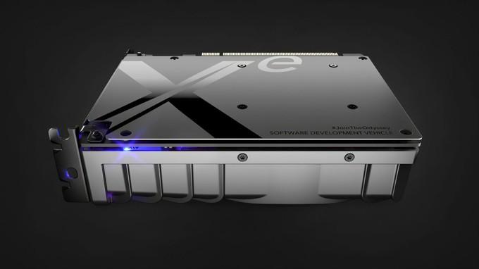 Впервые показан внешний вид Xe DG1 - видеокарты Intel
