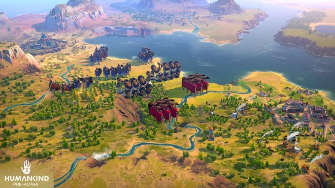 Свежие скриншоты и цивилизации Humankind