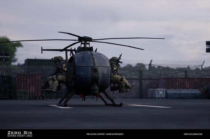 Первые скриншоты шутера Zero Six – Behind Enemy Lines