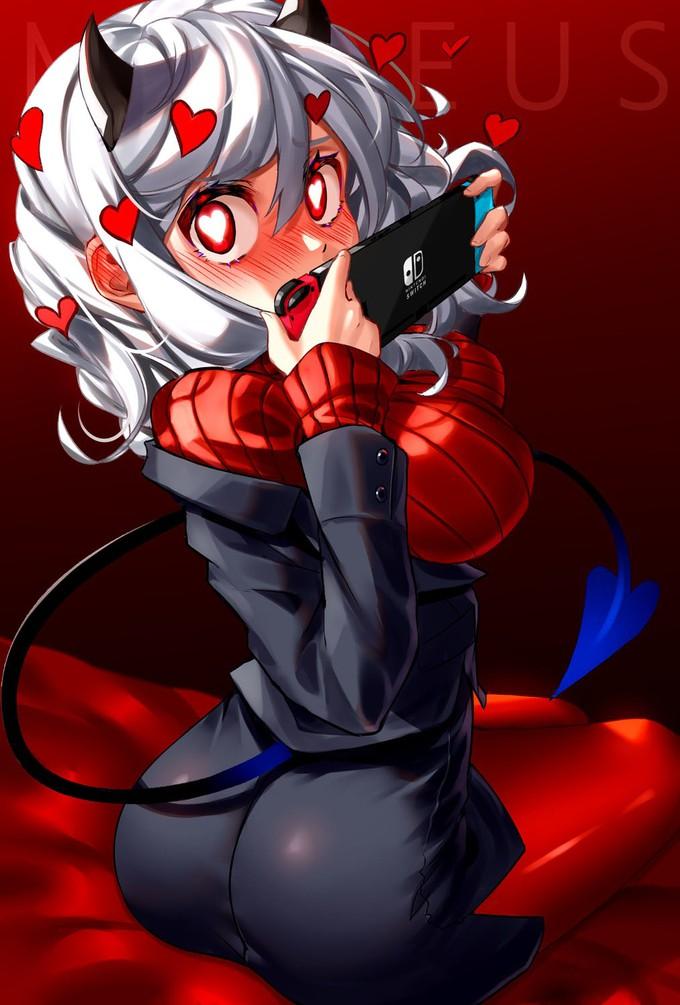 Демонические девочки из инди-игры Helltaker завоевывают интернет