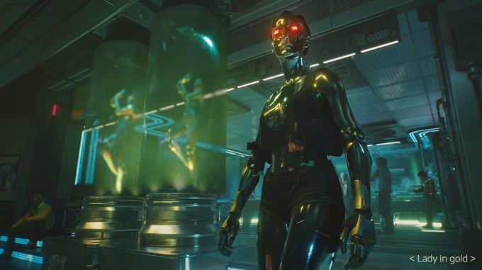 Рынок в Кабуки и аугментированная девушка на новых скриншотах  Cyberpunk 2077