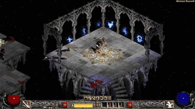 Новый фанатский геймплей Diablo 2 в 4K и 60fps
