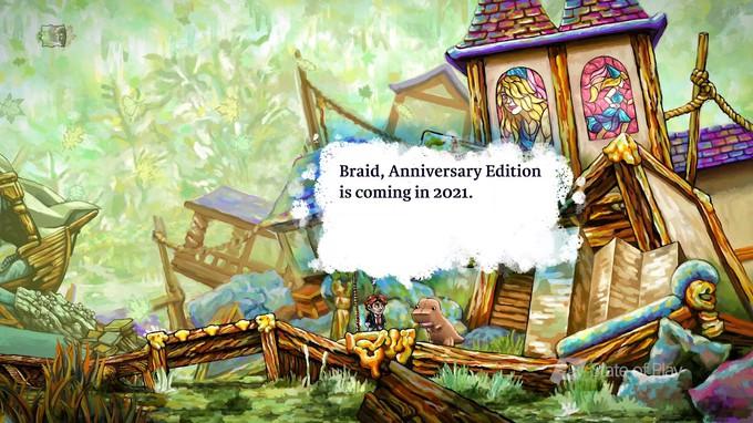 Анонсировано юбилейное издание Braid с улучшенной графикой