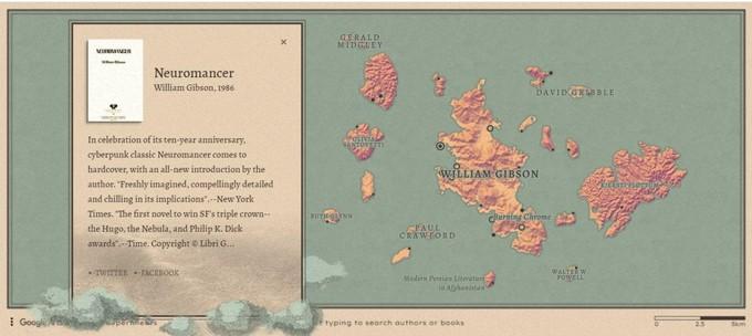Новая игра от Google позволяет изучать море писателей