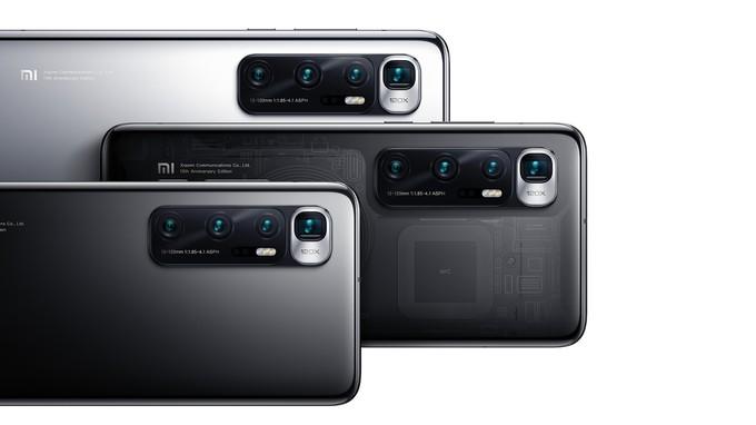Xiaomi в честь десятилетия бренда представила флагман Mi 10 Ultra — смартфон поддерживает быструю зарядку на 120 Вт