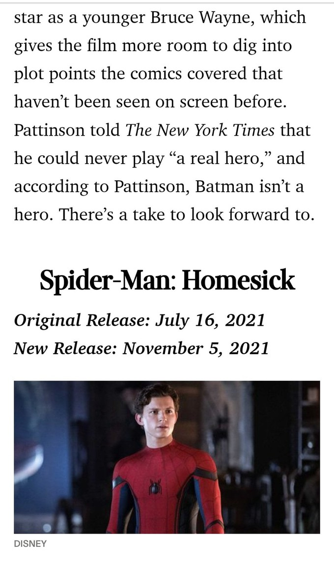 """Слух: Триквел """"Человека-паука"""" может получить подзаголовок Homesick"""