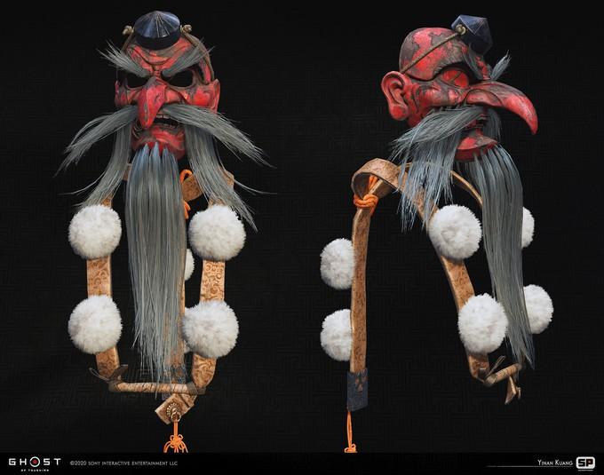 Чудесная Япония  — концепт-арты Ghost of Tsushima
